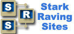 Stark Raving Sites Logo